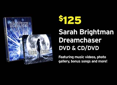 Sarah Brightman Dreamchaser PBS Pledge