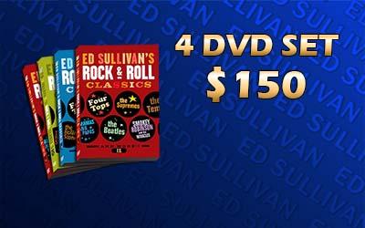Ed Sullivan's Rock & Roll Classics DVD