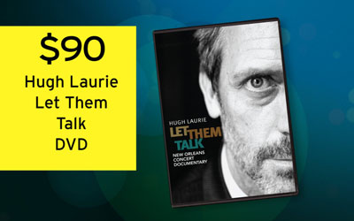Hugh Laurie: Let Them Talk