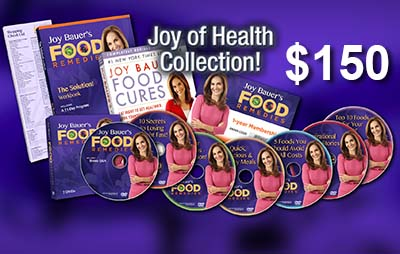 Joy Bauer's Food Remedies PBS Pledge