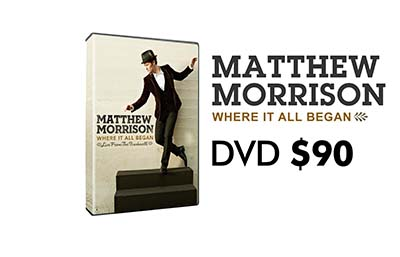 Matthew Morrison: Where it all Began