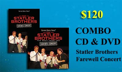 Statler Brothers Farewell Concert CD & DVD