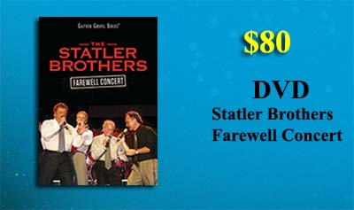 Statler Brothers Farewell Concert DVD