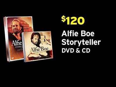 Alfie Boe Storyteller PBS Pledge