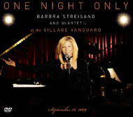 Barbra Streisand – One Night Only at the Village Vanguard