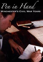Pen in Hand - Winchester's Civil War Years DVD
